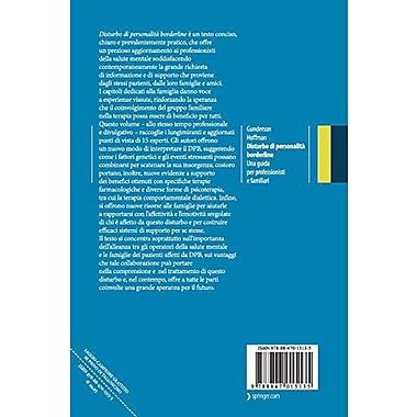 Disturbo di personalita' borderline: Una guida per professionisti e familiari (Italian Edition), Used Book (9788847015135)