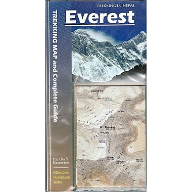 Everest: Trekking Map & Complete Guide (Milestone Himalayan Series), New Book (9788190327008)