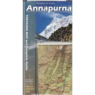 Annapurna: Trekking Map & Complete Guide 2014, Used Book (9788190327015)