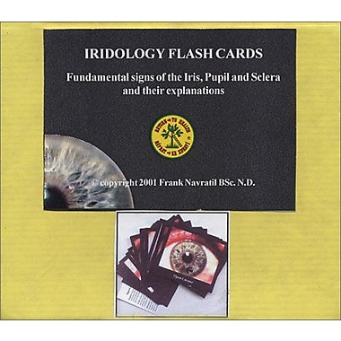 Iridology Flashcards / Tarjetas de Iridología (English and Spanish Edition), Used Book (9788023909357)
