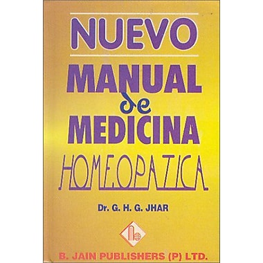 Nuevo Manual de Medicina Homeopatica (Spanish Edition) (9788170219200)