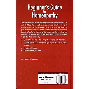Beginners Guide to Homeopathy (9788131902554)