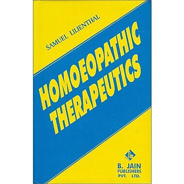 Homoeopathic Therapeutics, New Book (9788170210009)