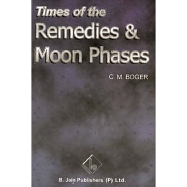 Times of Remedies and Moon Phases, New Book (9788170211143)
