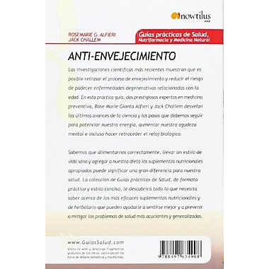 Anti-envejecimiento (Spanish Edition), Used Book (9788497634908)