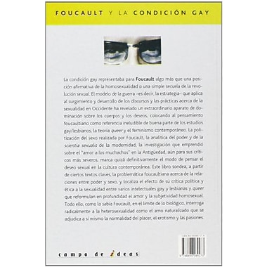 Michel Foucault y la condicion gay/ Michel Foucault and the gay condition (Spanish Edition), Used Book (9788496089273)
