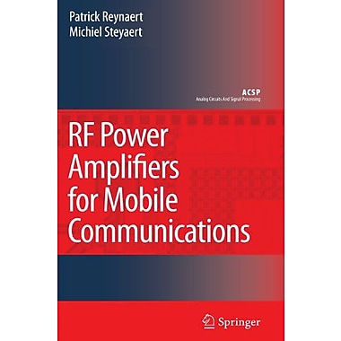 RF Power Amplifiers for Mobile Communications (Analog Circuits and Signal Processing), New Book (9789048172863)