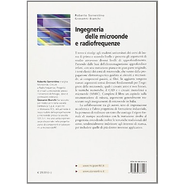 Ingegneria delle microonde e radiofrequenze (Italian Edition), New Book (9788838663147)