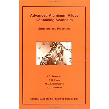 Advanced Aluminum Alloys Conta, Used Book (9789056990893)
