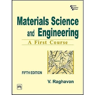 Materials Science and Engineering: A First Course, Used Book (9788120324558)