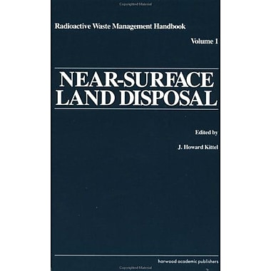 Near-Surface Land Disposal (Radioactive Waste Management Handbook), Used Book (9783718604869)