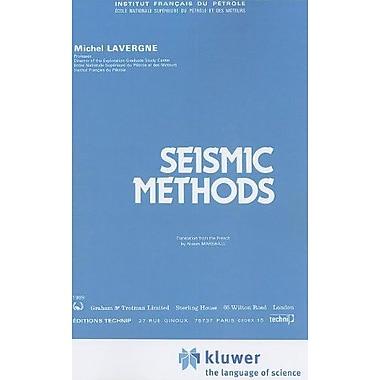 Seismic Methods (Institut Francais Du Petrole Publications), New Book (9789048182435)