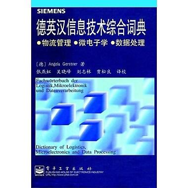 FachwOrterbuch der Logistik, Mikroelektronik und Datenverarbeitung / Dictionary of Logistics, Microele, New Book (9783895780998)