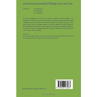 Global Environmental Change and Land Use, New Book (9789048163083)