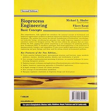 BIOPROCESS ENGINEERING >INTL.E, New Book (9788120321106)