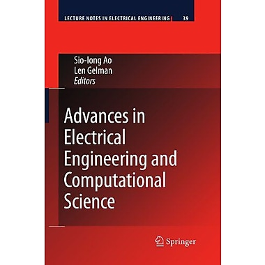 Advances in Electrical Engineering and Computational Science (Lecture Notes in Electrical Engineering), New Book (9789048184897)