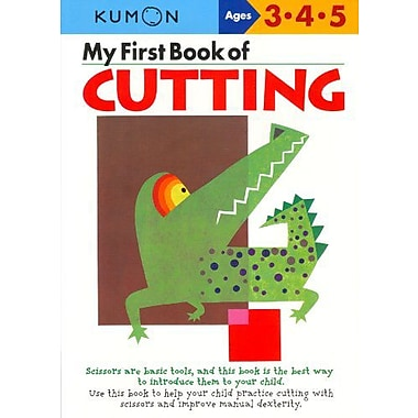 My First Book Of Cutting (Kumon Workbooks), New Book (9784774307084)