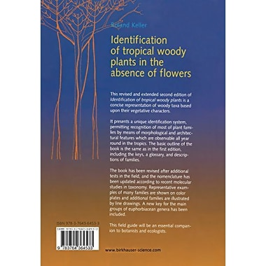 Identification of tropical woody plants in the absence of flowers (9783764364533)