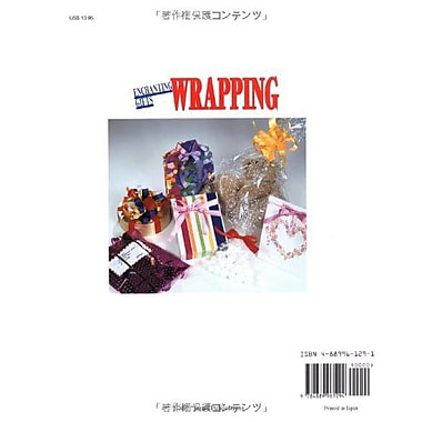 Quick and Easy Enchanting Gifts Wrapping 149 Items, Used Book (9784889961294)