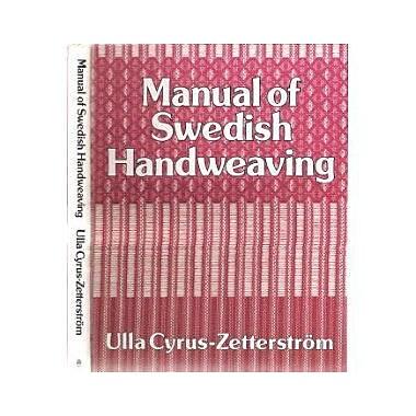 Manual Of Swedish Handweaving, Used Book (9789136021394)
