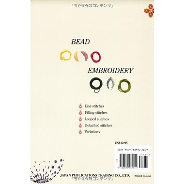 Bead Embroidery, New Book (9784889962154)