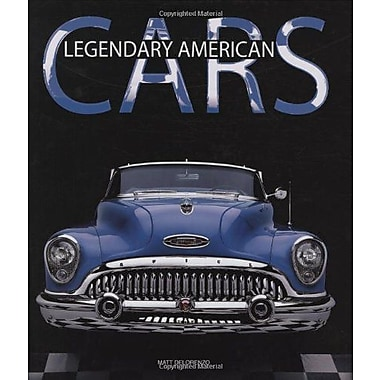 Legendary American Cars, New Book (9788854402461)