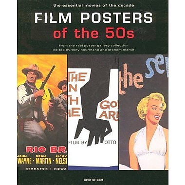 Film Posters of the 50s: The Essential Movies of the Decade, New Book (9783822845219)