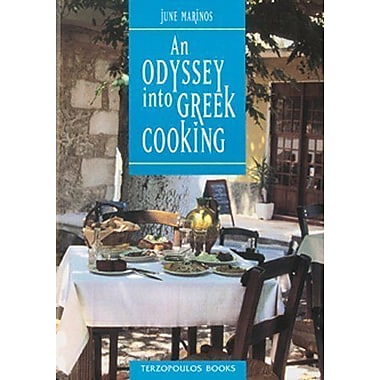 An Odyssey into Greek Cooking, New Book (9789607220622)