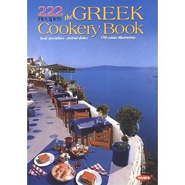 222 Recipes, The Greek Cookery Book, New Book (9789605400316)