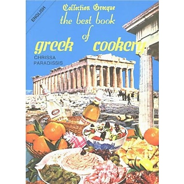 Best Book of Greek Cookery, Used Book (9789602261194)