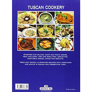 Tuscan Cookery (Bonechi), Used Book (9788847607804)