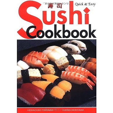 Quick & Easy Sushi Cookbook (Quick & Easy Cookbooks Series), New Book (9784889960921)