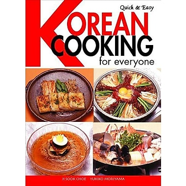 Quick & Easy Korean Cooking for Everyone (Quick & Easy Cookbooks Series), New Book (9784889961249)
