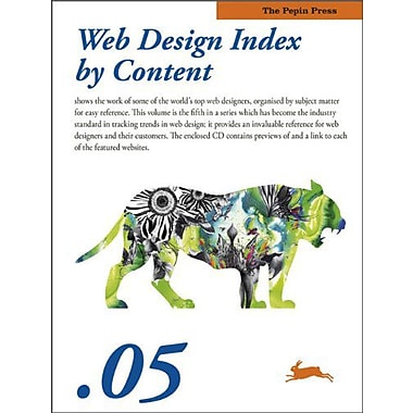 Web Design Index by Content 05, New Book (9789057681509)