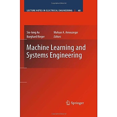 Machine Learning and Systems Engineering (Lecture Notes in Electrical Engineering), Used Book (9789048194186)