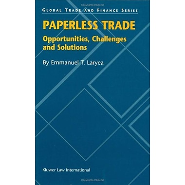 Paperless Trade (Global Trade & Finance Series), Used Book (9789041198976)