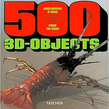 500 3D Objects, New Book (9783822816219)