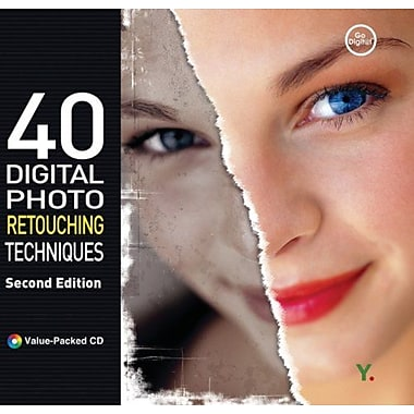 40 Digital Photo Retouching Techniques, New Book (9788931435122)