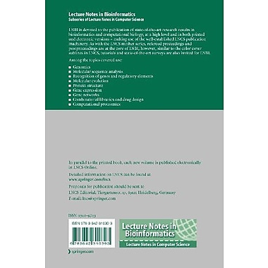 Data Integration in the Life Sciences: 8th International Conference, DILS 2012, College Park, MD, USA, Used Book (9783642310393)