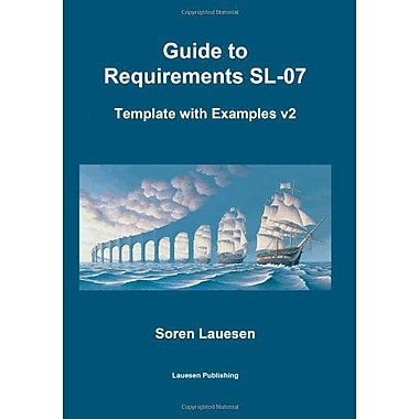 Guide to Requirements SL-07: Template with Examples v2, New Book (9788799234417)