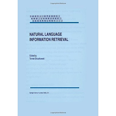 Natural Language Information Retrieval (Text, Speech and Language Technology), New Book (9789048152094)