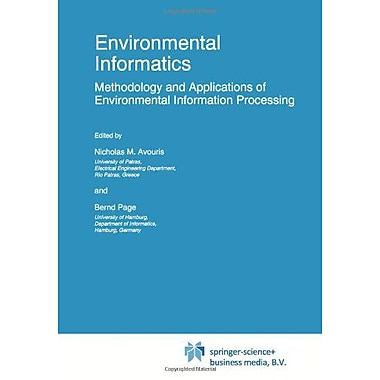 Environmental Informatics: Methodology and Applications of Environmental Information Processing(Euroc, Used Book (9789048145386)