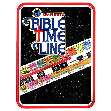 Simplified Bible Time Line, Chronological, New Book (9789503204795)