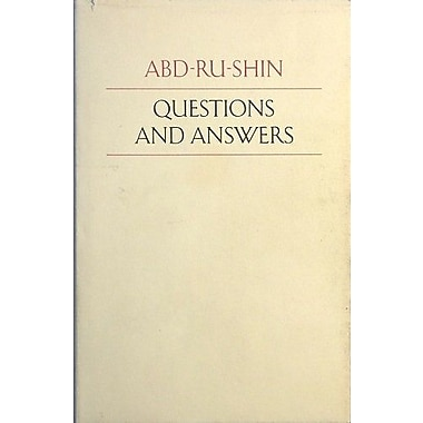 Questions and Answers, Used Book (9783878601456)