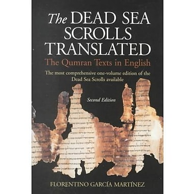 The Dead Sea Scrolls Translated: The Qumran Texts in English, New Book (9789004105898)