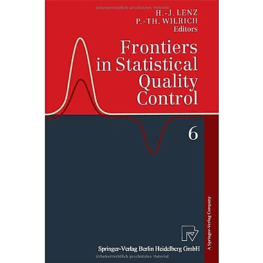 Frontiers in Statistical Quality Control 6, Used Book (9783790813746)