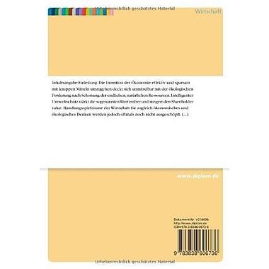 Umweltkennzahlen als Instrument fur ein umweltorientiertes Controlling (German Edition), New Book (9783838606736)