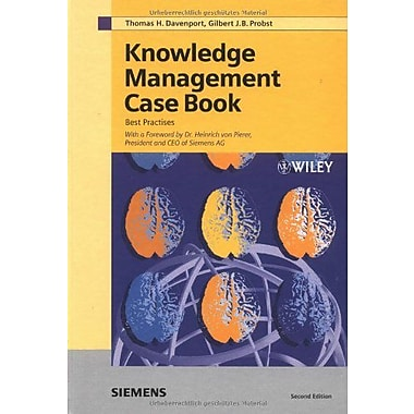Knowledge Management Case Book (9783895781810)