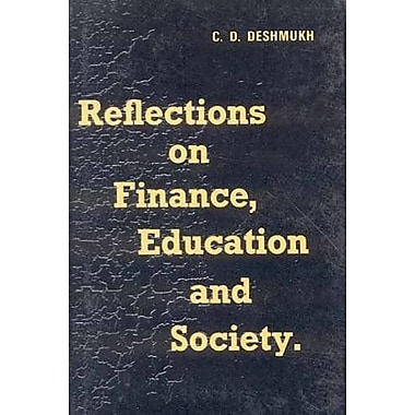 Reflections on Finance, Education and Society, New Book (9788120826502)