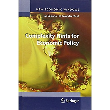Complexity Hints for Economic Policy (New Economic Windows), New Book (9788847005334)
